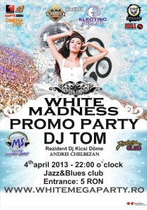white madness promo party