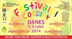 festivalul copiilor danes