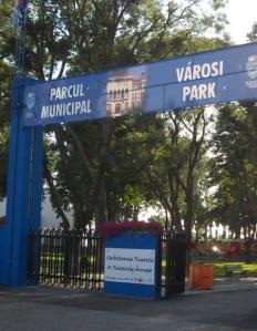 parcul municipal tg mures