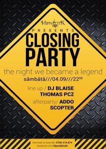 hipnotik closing party