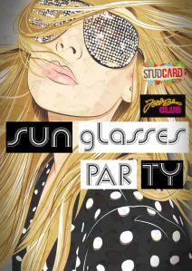 petrecerea ochelarilor de soare