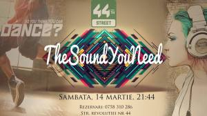 the sound you need 44th street